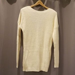 V-back knit legging sweater!